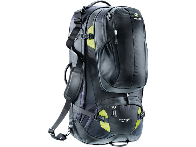 Deuter Traveller 80 + 10 Mochila, black-moss